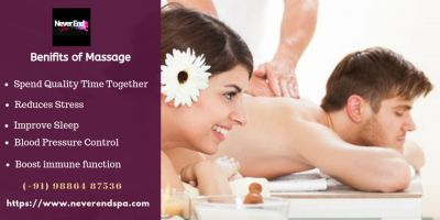 "Rejuvenate yourself with body massage by Never end Spa therapists. we provide professional spa & massage service like, body to body massage, happy ending massage, Female to male massage, Wedish massage etc. Massage is the very helpful way to relax your body and mind. https://www.neverendspa.com <a href=""http://www.neverendspa.com/"">Massage service bangalore</a>"
