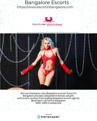 Are you looking for sexy Bangalore escorts? Escort In Bangalore provides independent female call girls and escorts services from leading bangalore escorts agency.  Book best Call Girls in bangalore With 100% Confidential
